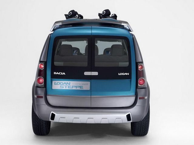 Dacia Logan Steppe Concept 2006 Cars From Polonia Pinterest
