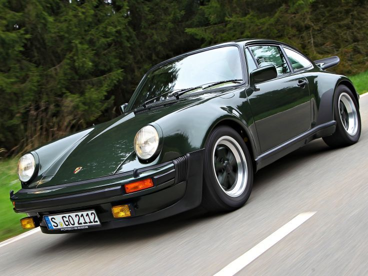 Image result for 1984 911 turbo british racing green