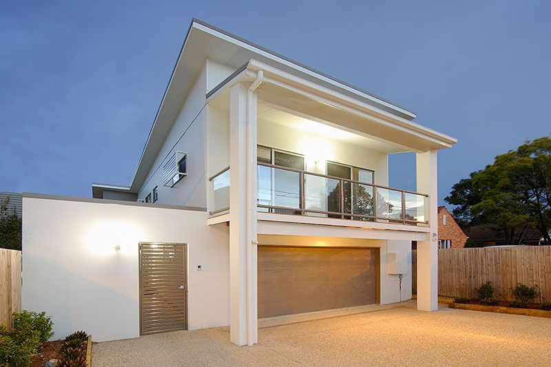 dj builders - small lot homes design and build brisbane, narrow