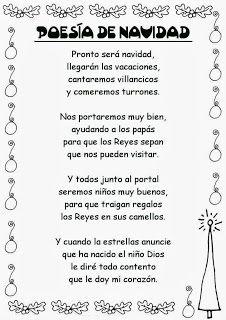 Poema De Navidad Lengua Spani