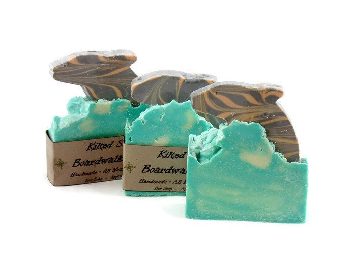 Boardwalk Bliss Bar Soap Summer Dolphin Pinned By Pin4etsy