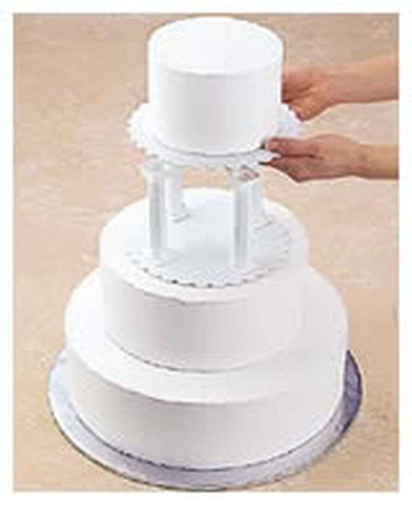 You May Also Use Push In Pillars Which Eliminate The Need For Dowel Rods And A Plate Or Board To Support