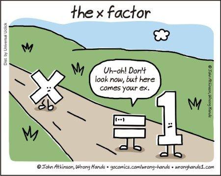 The X Factor Dad Jokes Funny Math Jokes Math Humor