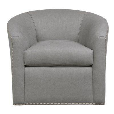 Superb Duralee Furniture Springfield Swivel Barrel Chair Body Creativecarmelina Interior Chair Design Creativecarmelinacom