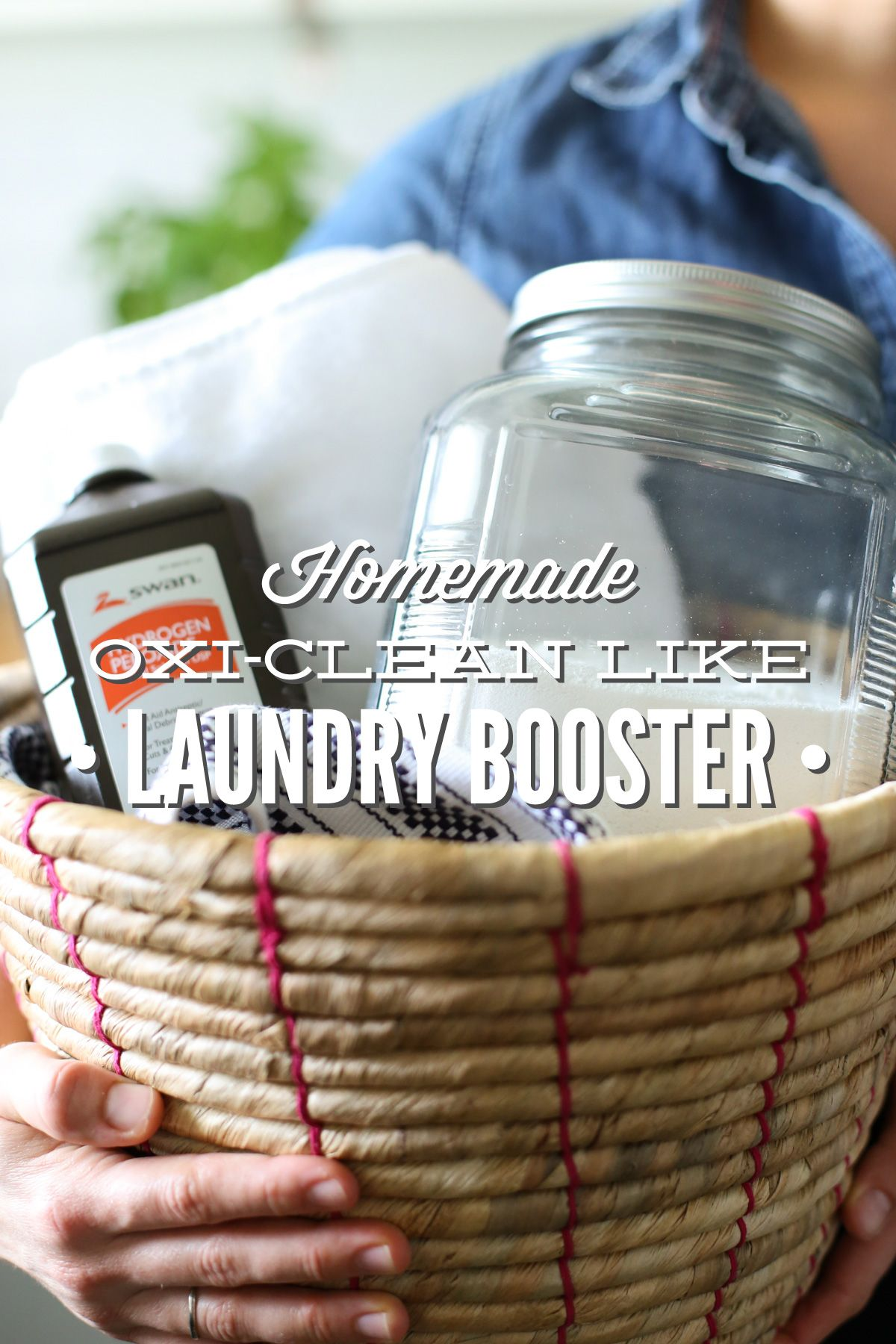 Homemade Oxi Clean Like Laundry Booster Recipe Homemade