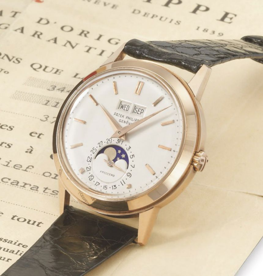 Patek Philippe Reference 3448 Rare Automatic Perpetual Calendar In Pink  Gold - $2,338,219