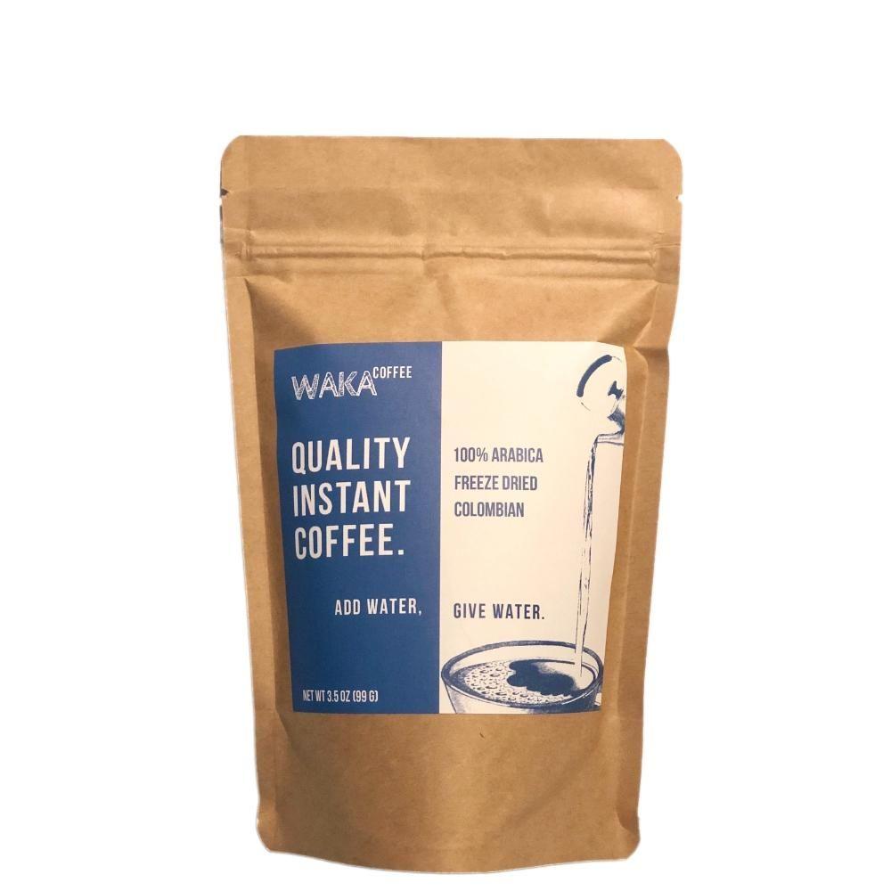 Medium Roast Colombian Instant Coffee 3.5 oz Bag Coffee