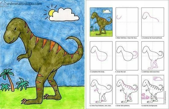 çocuklar Için Kolay çizimler Okul öncesi Kolay çizimler Sedat Ve