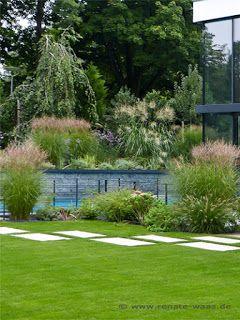 Gartendesign Mit Grasern Fur Einen Villengarten