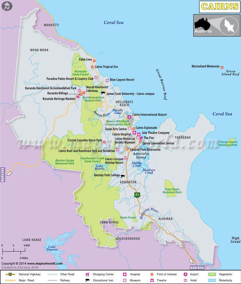 Cairns Map, Australia | Maps in 2019 | Cairns australia ... on australia continent map countries, australia oil fields map, australia golf map, australia outback map location, australia highways map, australia information and history, university of queensland australia map, south australia map, australia important landmarks map, australia infrastructure map, australia country map, australia people, australia railroads map, australia weather map radar, australia city map, australia border map, australia transportation map, australia religion map, australia cricket grounds map, australia stations map,