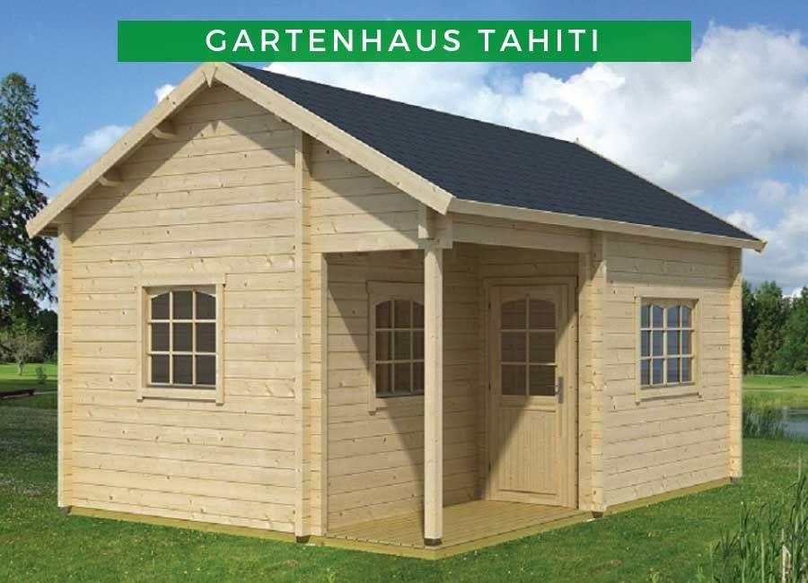 Lasita Maja Gartenhaus Tahiti 70 Iso 701302 Gartenhaus Haus Satteldach