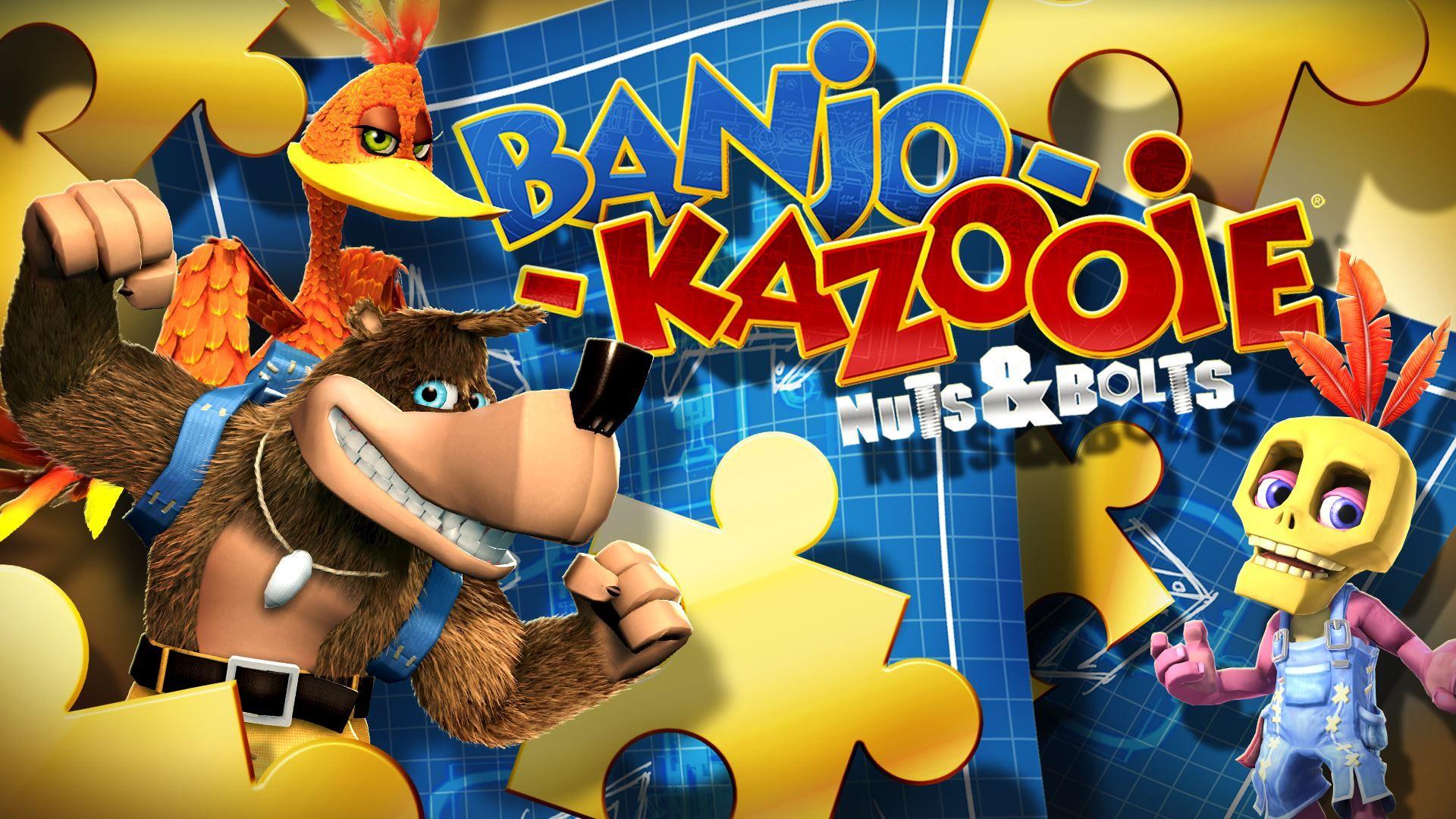 Banjo Kazooie N N B Banjo Kazooie Banjo Nuts Bolts