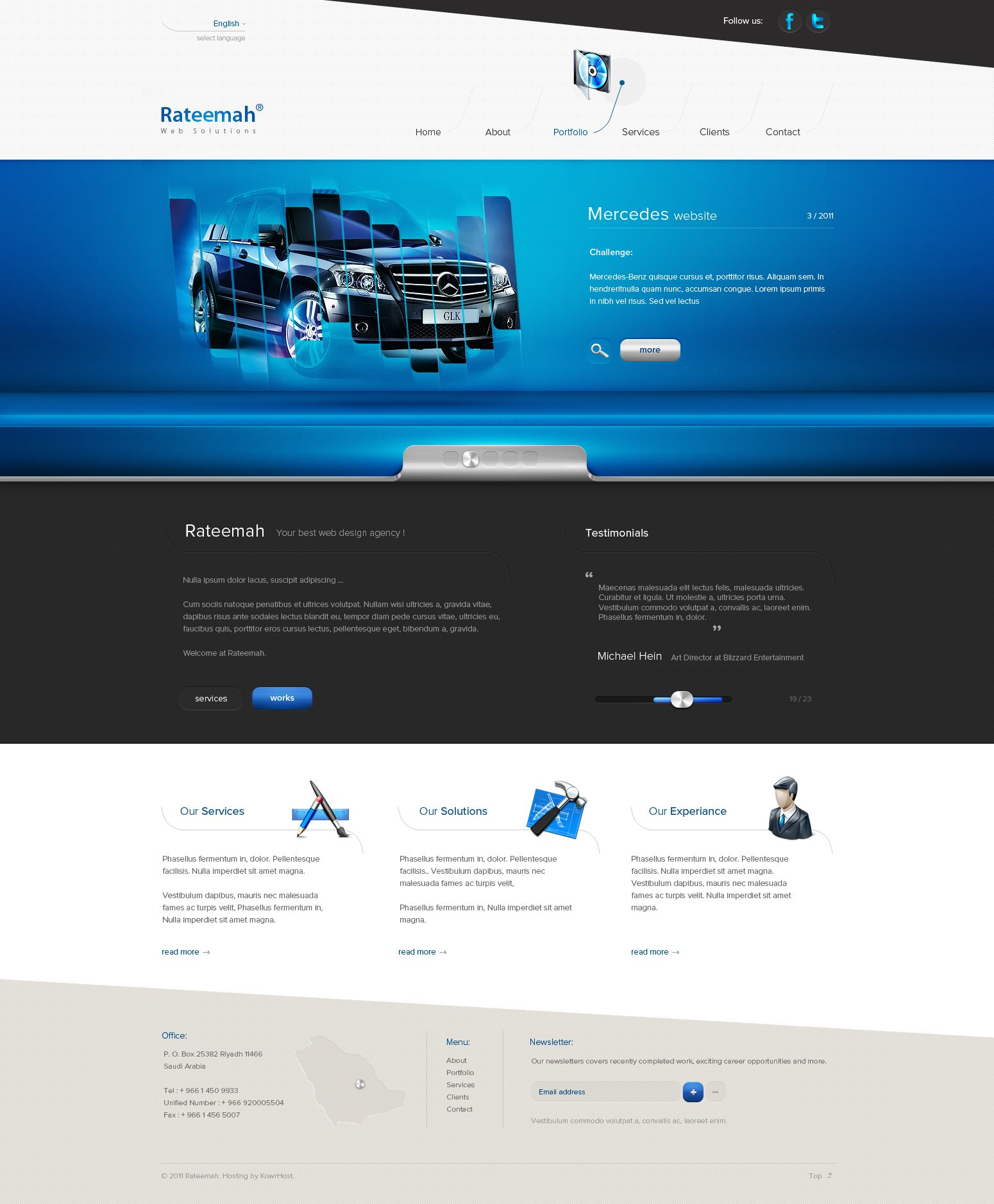 Some Site For Some Web Agency By Carl913 On Deviantart Interactive Design Web Design Web Design Inspiration