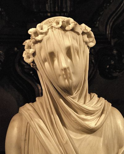 Close up of Monti's Veiled Vestal Virgin. I mean... come on. Amazing.