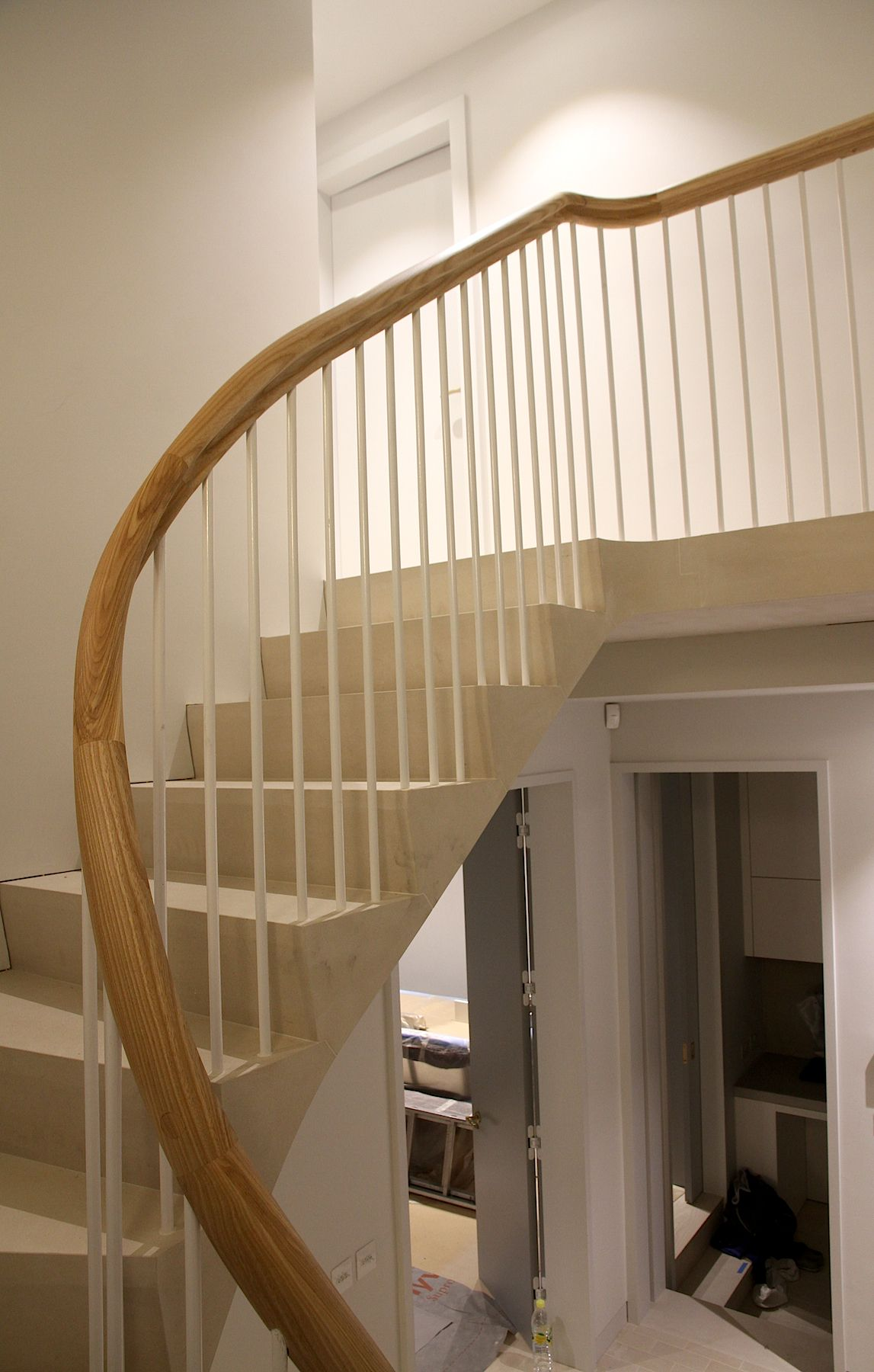 Best Stone Staircase Portland Stone Cantilever Stair Ash 400 x 300