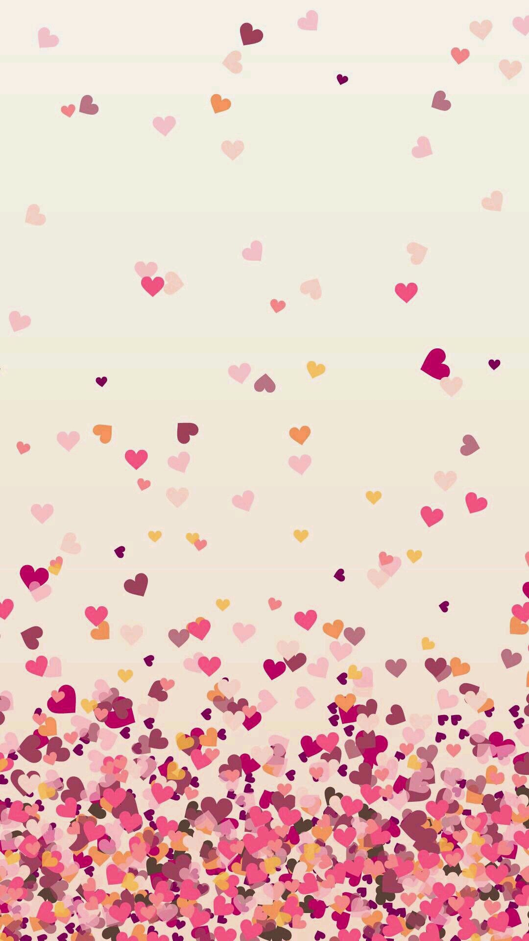 Walpaper Cute Heart Pink Wallpaper Iphone Heart Wallpaper