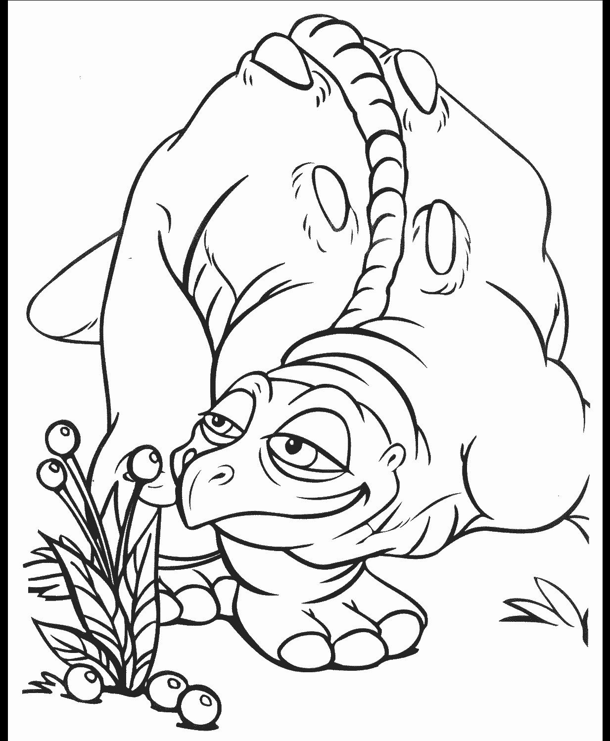 Pretty Photo Of Land Before Time Coloring Pages Davemelillo Com Dinosaur Coloring Pages Animal Coloring Pages Dinosaur Coloring