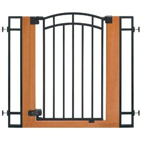 Attrayant Walk Through Pressure Mounted Baby Gate