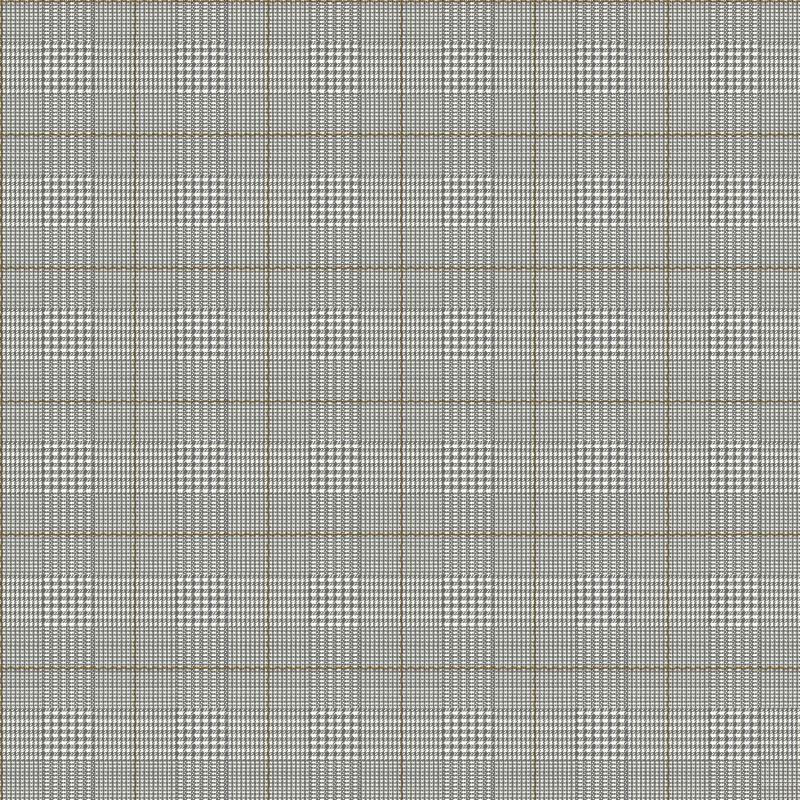 York Wallcoverings AB2048 Black and White Harris Plaid Wallpaper Warm White / Black / Earth Brown Home Decor Wallpaper Wallpaper