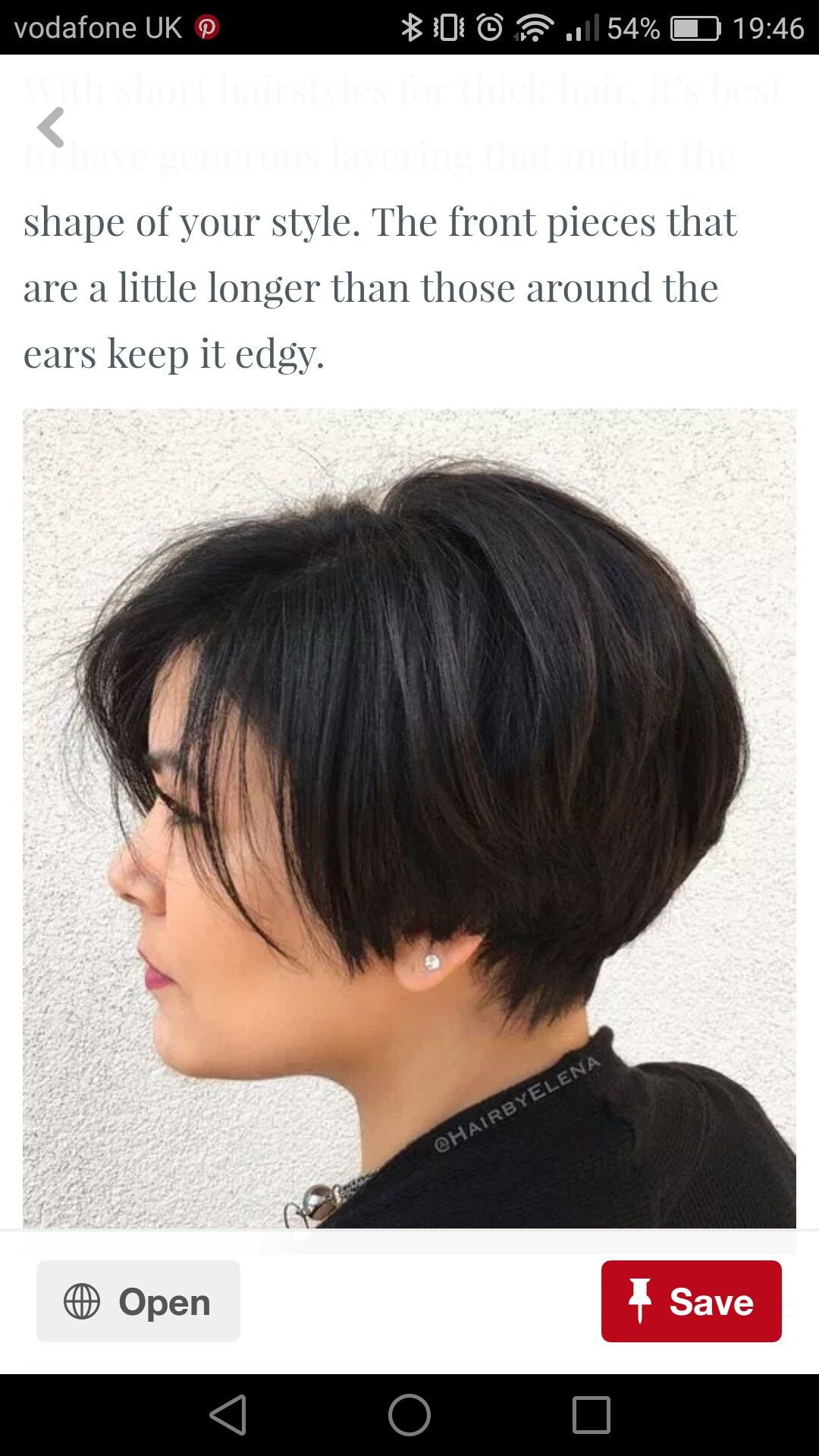 Pin By Latosha On Hairstyles Short Hairstyles For Thick Hair Haircut For Thick Hair Hair Styles