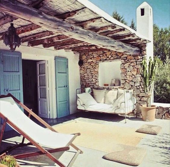 Cozy Terraces Magnificent Ideas With No Cost And Large Investments My Desired Home House Design Outdoor Living My Dream Home