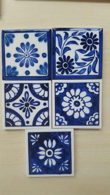 Dibujos Sobre Azulejos Dibujos Pinterest Azulejos Ceramica Y - Azulejos-con-dibujos