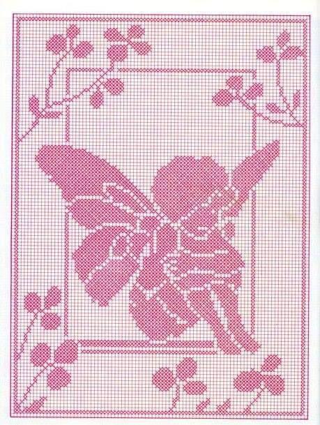 Stickbild vorlage sticken und stickbilder stitch cross stitch e filet crochet - Vorlagen kreuzstich ...