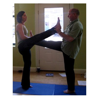 8 partner poses that stretch your hamstrings  partner