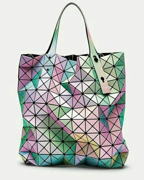 735294ad0426 ISSEY MIYAKE Prism Bag