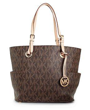 Michael Kors Handbag Signature Tote Handbags Accessories Macy S