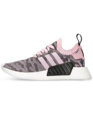 adidas Women's Nmd R2 Primeknit Casual Sneakers from Finish