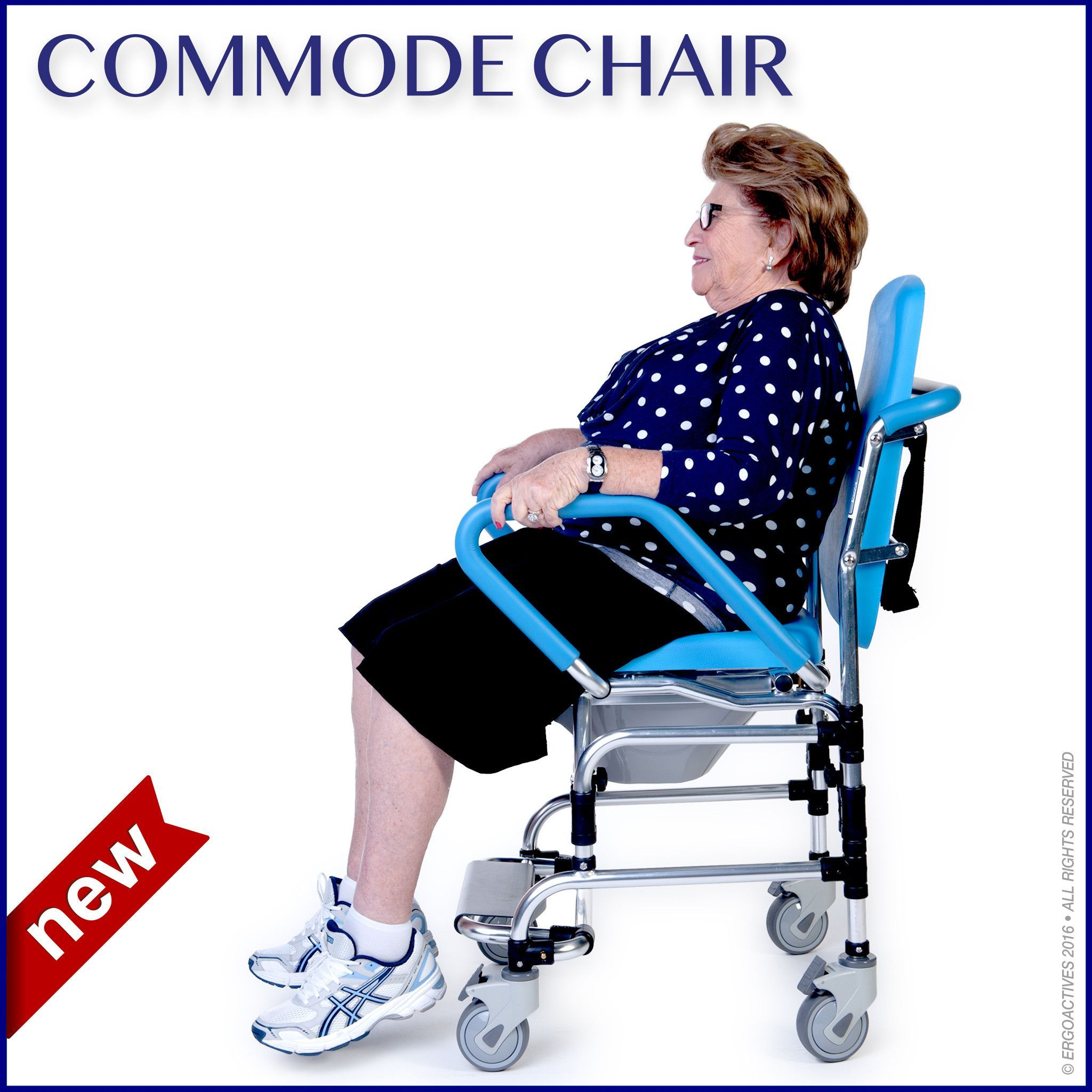 Commode Chair ERGOACTIVES Commode chair, Commode, Chair