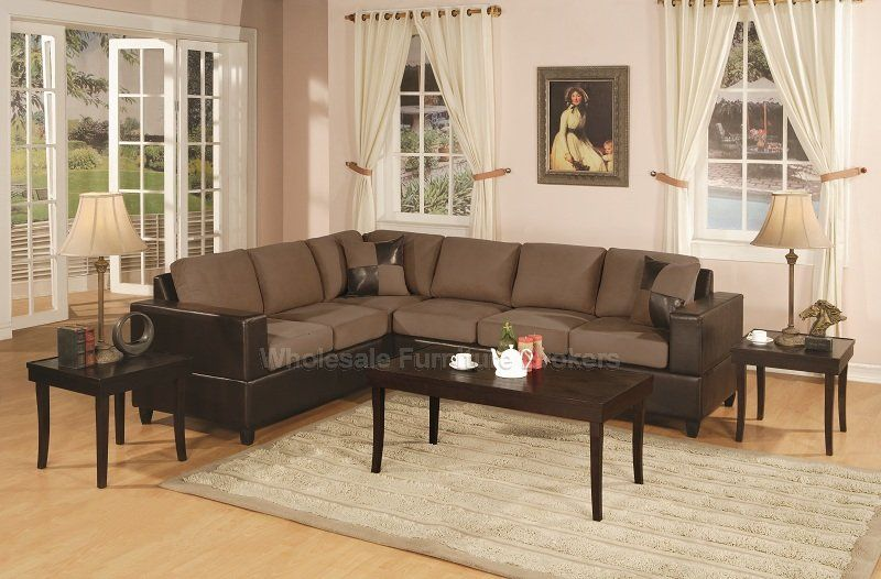 Superbe San Diego Saddle Sectional Sofa | Urban Cali   San Diego Saddle Sectional  Sofa By Urban