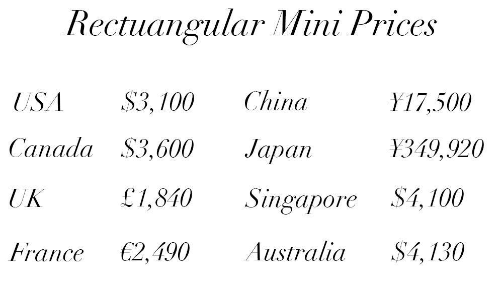322b8521cb8408 Chanel-Classic-Flap-Bag-Price-Guide-Rectangular-Mini-121015 | Bags ...