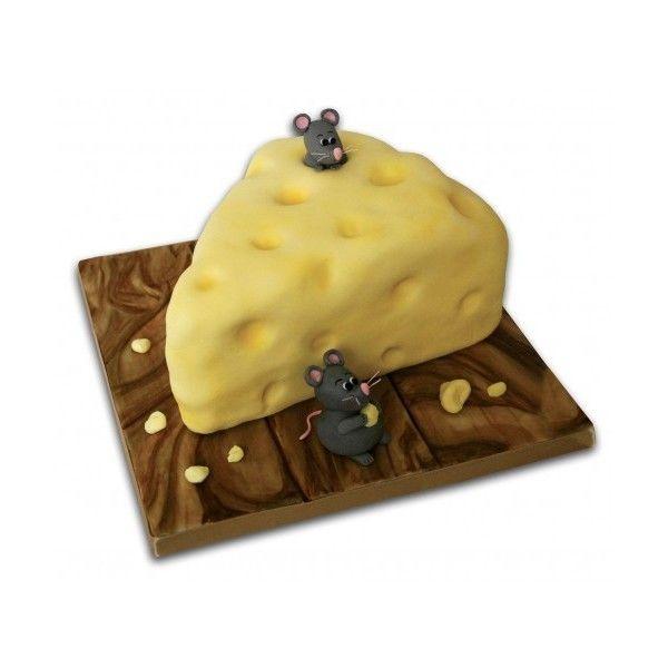 Delightful Cheese Lovers Novelty Birthday Cake Edinburgh