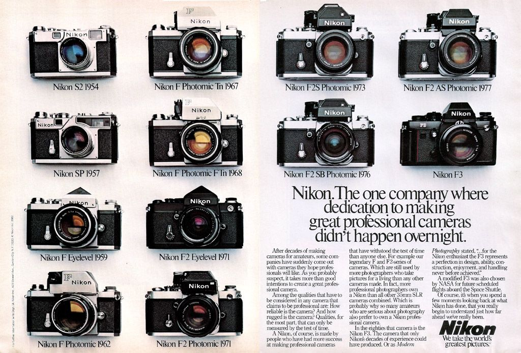 The Casual Camera Collector: Need better data on vintage cameras? Take a look at vintage photo ads.