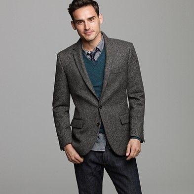 Images of Tweed Blazer - Reikian