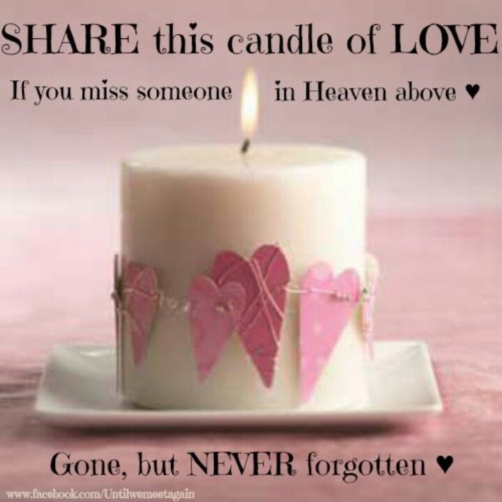 nice hearts on candle