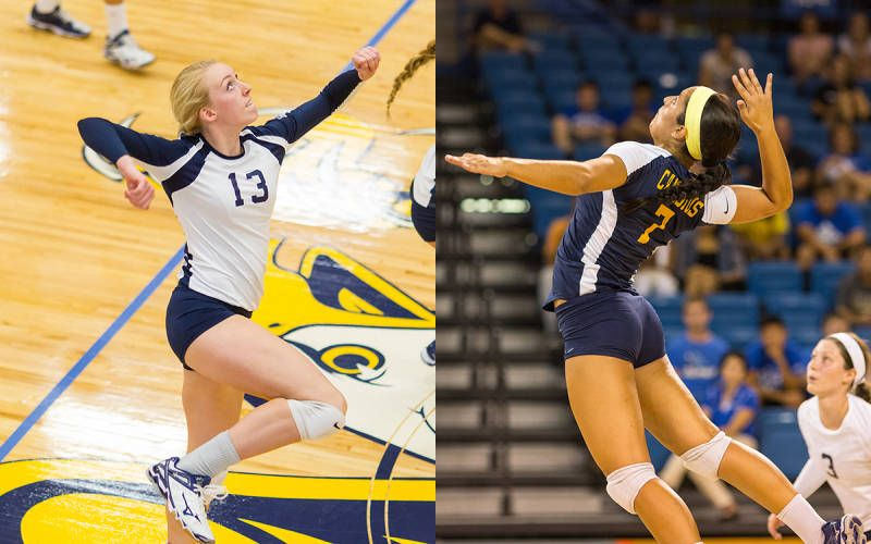Siebert And Kline Named Preseason All Maac The Official Web Site Of Canisius College Athletics College Athletics Volleyball News Athlete