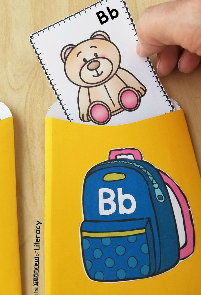 FREE Back to School Beginning Sound Sort Activity Printables ...