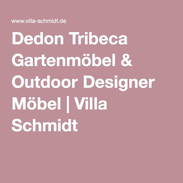Dedon Tribeca Gartenmöbel  Outdoor Designer Möbel Villa Schmidt - designer gartenmobel kenneth cobonpue