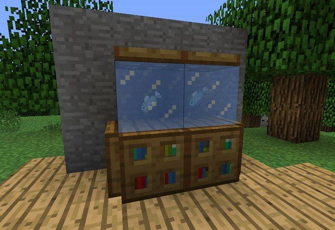 How To Make Furniture In Minecraft Minecraft Haus Minecraft Und