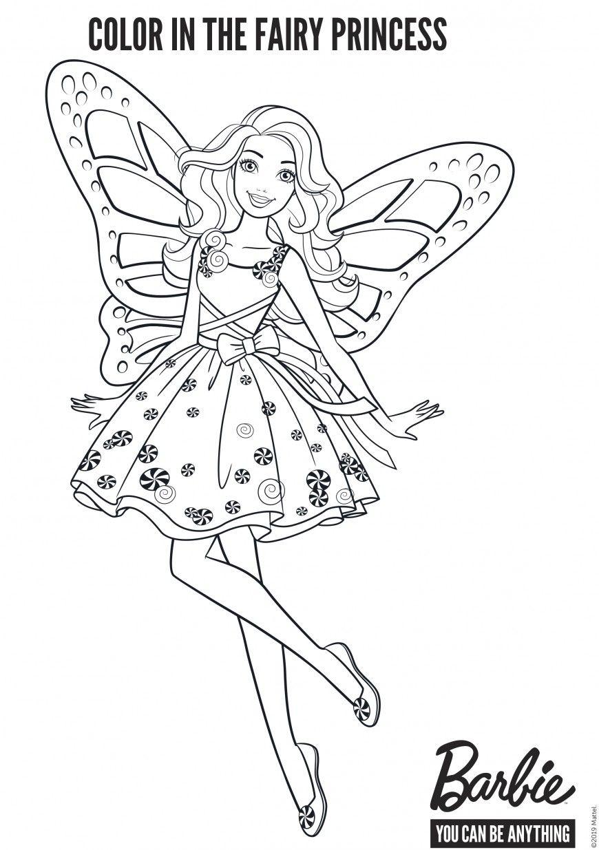Barbie Fairy Coloring Pages Barbie Coloring Pages Fairy Coloring Cinderella Coloring Pages
