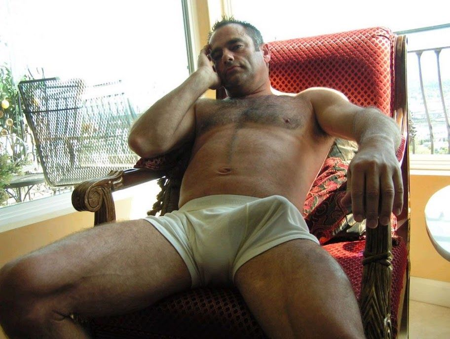 Old daddy bulge