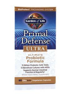 Garden Of Life Probiotics Primal Defense Ultra Probiotics Best Probiotic Best Probiotic Foods
