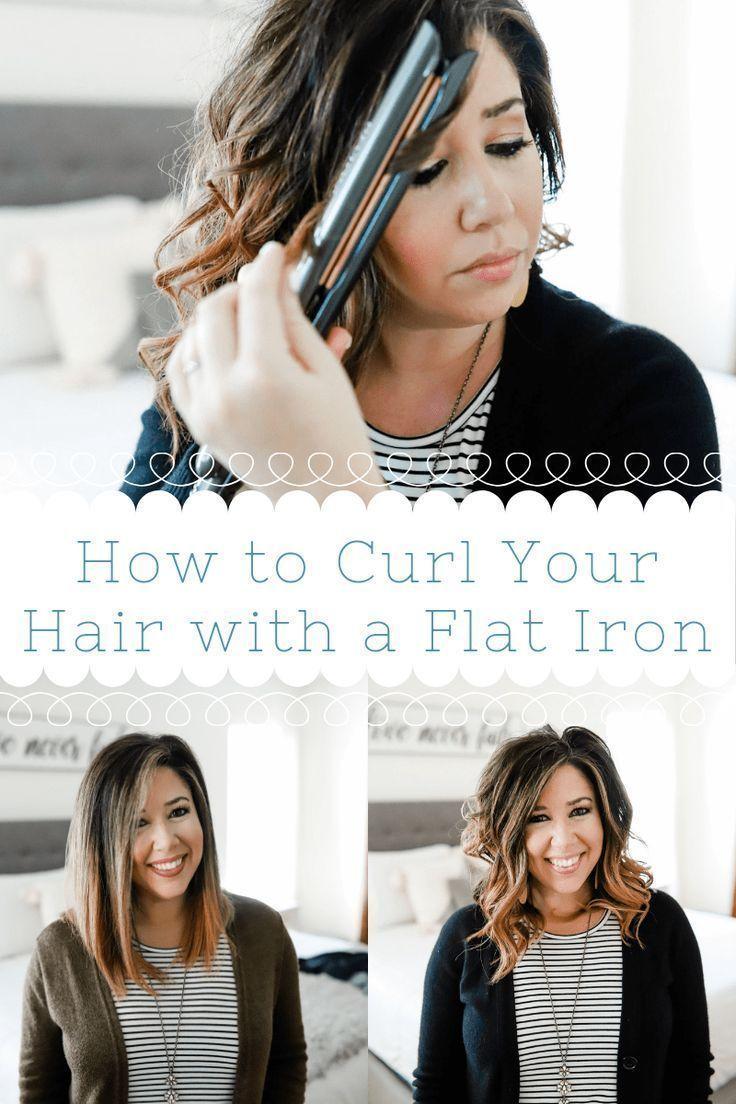 How to get fast flat iron curls fast curls flat iron