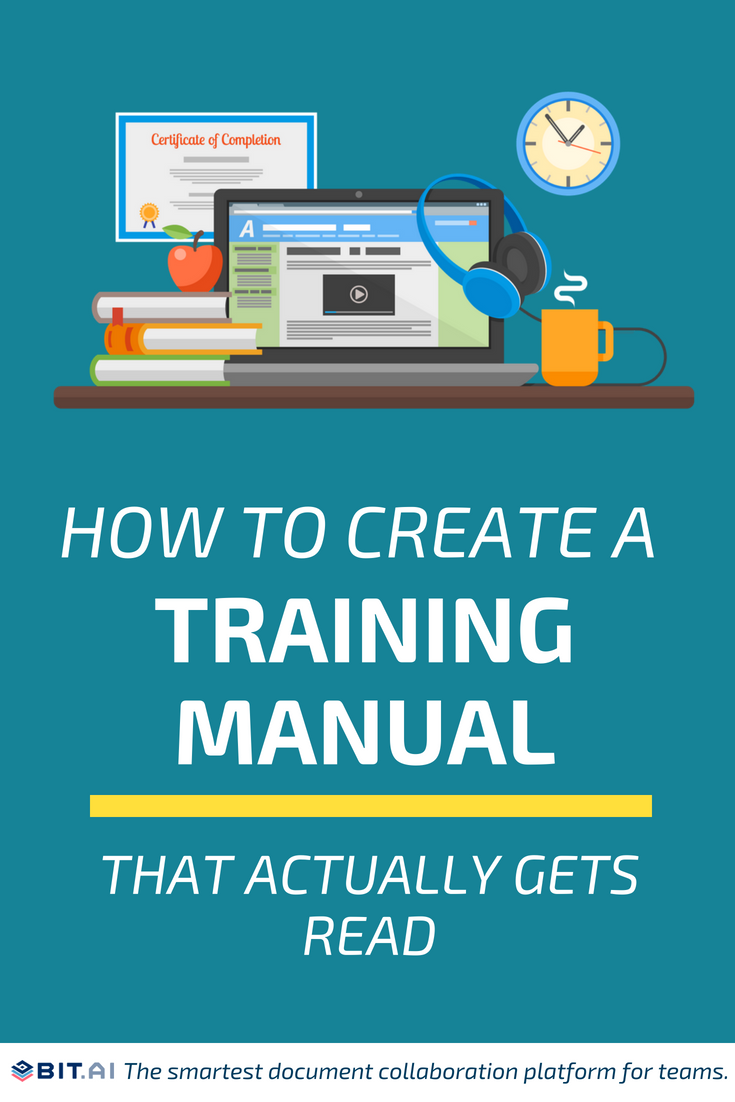 How to Create a Training Manual that Actually Gets Read #training #trainingmanual #trainingguide #guide #employees #team #manual
