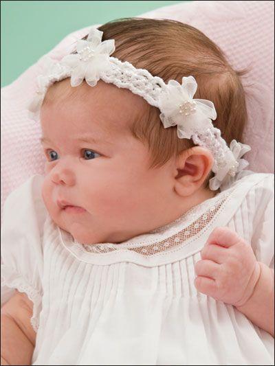 Baby Headbands Baby Bye Pinterest Puppen Baby Stirnbänder Und
