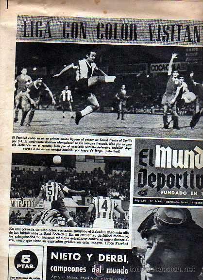 portada mundp deportivo 1970 -  angel nieto campeon