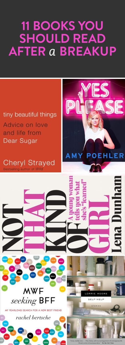 11 books to read after a breakup
